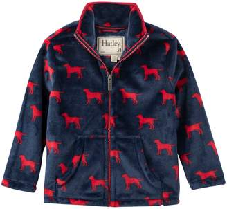 Hatley Red Labs Fleece Jacket