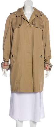 Burberry Collar Knee-Length Coat