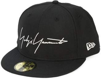Yohji Yamamoto embroidered logo cap