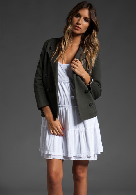Autumn Cashmere Double Breasted Blazer