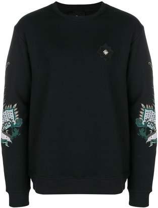 John Richmond embroidered dragon sweatshirt