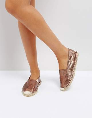 Pieces Bronze Espadrilles