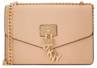 DKNY Elissa Large Leather Shoulder Bag