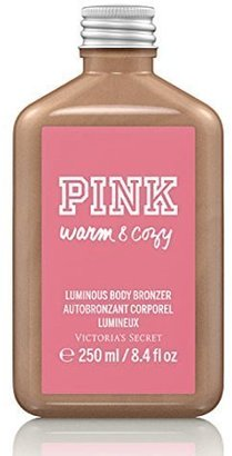 Victoria's Secret PINK Warm And Cozy Luminous Body Bronzer 8.4 oz $21.99 thestylecure.com
