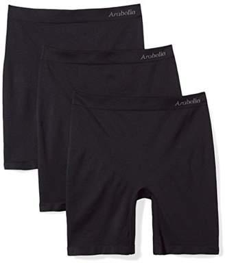 Arabella Women's Plus Size Seamless Slip Short