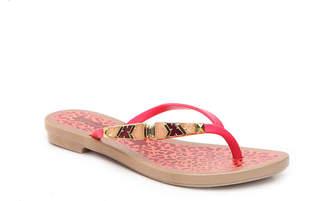 grendha Flat Print Flip Flop - Women's