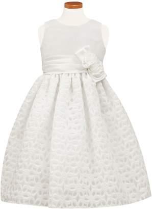 Sorbet Floral Burnout Fit & Flare Dress