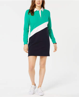 Tommy Hilfiger Striped Rugby Dress