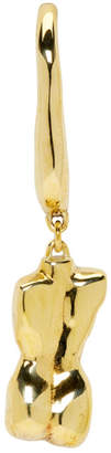 Faris Bronze Single Vero Bod Earring