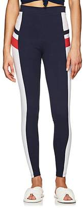 Fila Women's Greta Logo Stretch-Cotton High-Waist Leggings