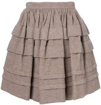 Ermanno Scervino layered mini skirt