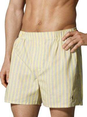 Polo Ralph Lauren Three-Pack Woven Boxers