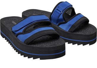 63474d5ea37b0 Rocket Dog Womens Manto Neo Sliders Blue/Black