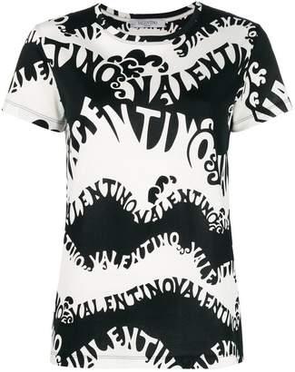 Valentino printed style T-shirt