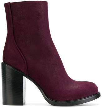 A.F.Vandevorst chunky heeled boots