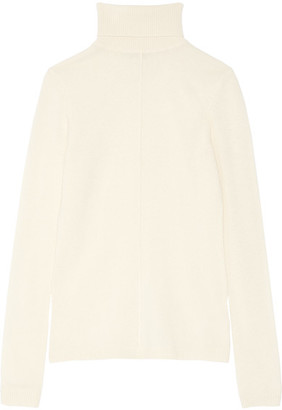 Frame Classic Cashmere Turtleneck Sweater - Ecru