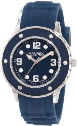 Haurex Italy Women's Vivace Teal Dial Rubber Watch 1D371DB1