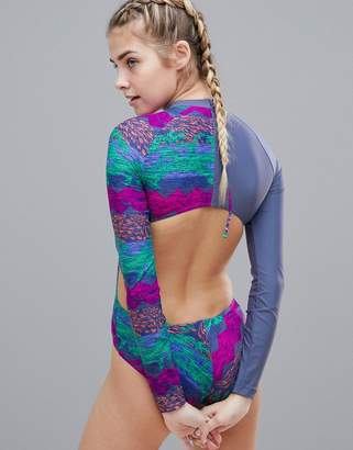 adidas Printed Swimsuit