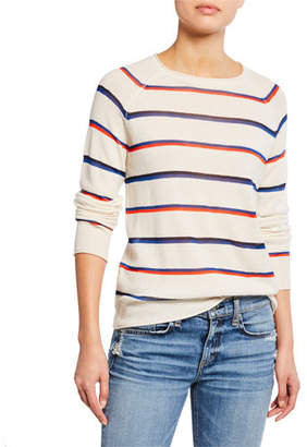 Kule The Penny Striped Pullover Sweater