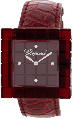 Chopard Ice Cube Red Steel Watches