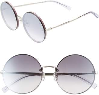 Rebecca Minkoff Gloria1 56mm Round Sunglasses