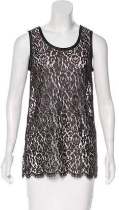 Dolce & Gabbana Lace Sleeveless Top w/ Tags