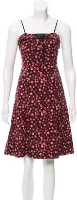 Marc Jacobs Polka Dot A-Line Dress