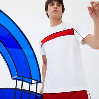 Lacoste Men's SPORT Pique T-Shirt - Novak Djokovic Collection