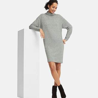 Uniqlo Women's Soft Knitted Fleece Long-sleeve Dress