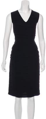 Burberry Ruffled Midi Dress
