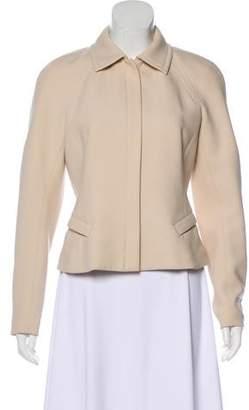 Donna Karan Structured Wool Jacket