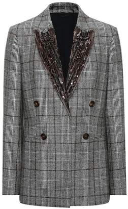Brunello Cucinelli Sequinned wool blazer