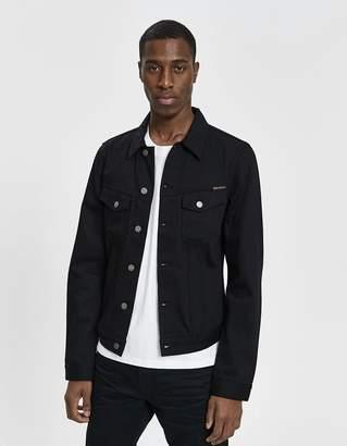 Nudie Jeans Billy Dry Black Denim Jacket