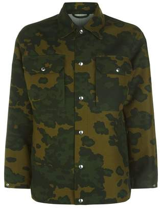 Dunhill Camouflage Shirt Jacket