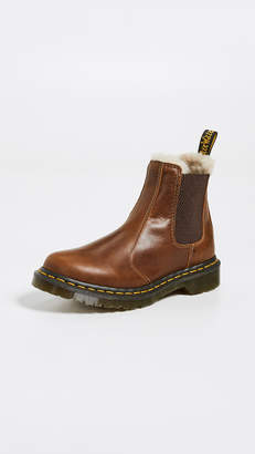 bd54fa02a255 Dr. Martens Leonore Sherpa Chelsea Boots