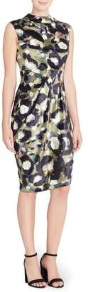 Catherine Catherine Malandrino Arlene Floral Jacquard Sheath Dress