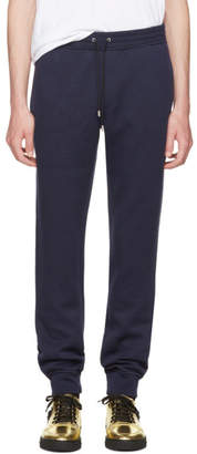 Versace Navy Embroidered Medusa Lounge Pants