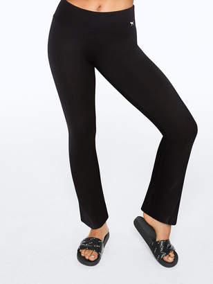 PINK Flat Waist Yoga Flare Pant