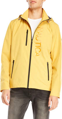 Nautica Hooded Rain Jacket