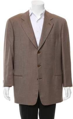 Giorgio Armani Cashmere and Silk-Blend Two-Button Blazer