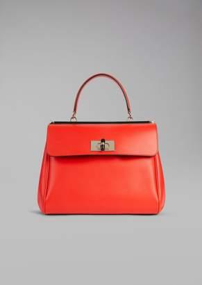 Giorgio Armani Handbag In Smooth Leather