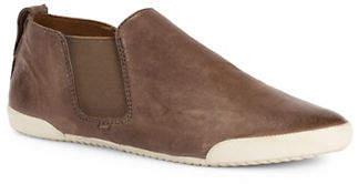 Frye Melanie Leather Slip-On Sneakers