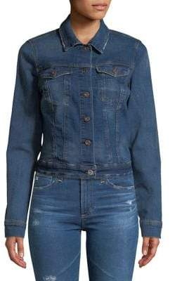 Jessica Simpson Distressed Denim Jacket
