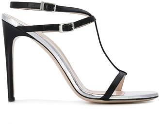 Pollini strappy stiletto sandals