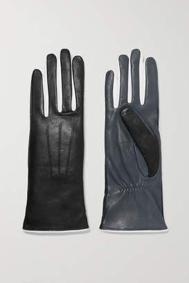 94bae3feb Isabel Marant Bocker Color-block Leather Gloves - Black