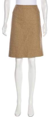 KORS Wool-Blend Skirt