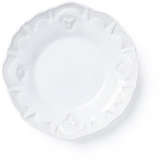 Vietri Incanto Stone Lace Pasta Bowl - White
