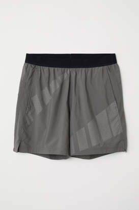 H&M Ultra-light Running Shorts - Gray