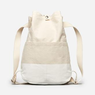 The Beach Canvas Backpack $40 thestylecure.com
