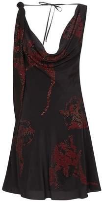 3b967a3d56 Roberto Cavalli Leopard Print Maxi Dress